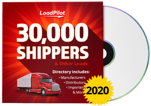 Giant Directory of U.S. Shippers & Other Leads for Freight Brokers - 30,000 Sales Leads
