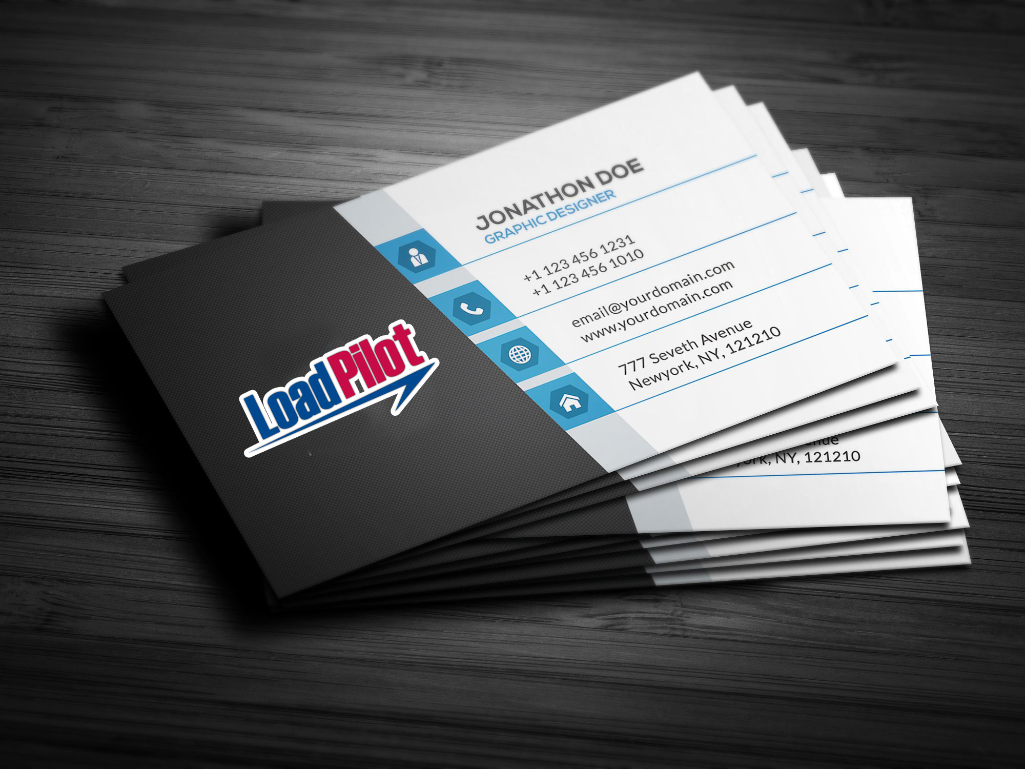 Custom Business Cards Design (1,000 Cards)